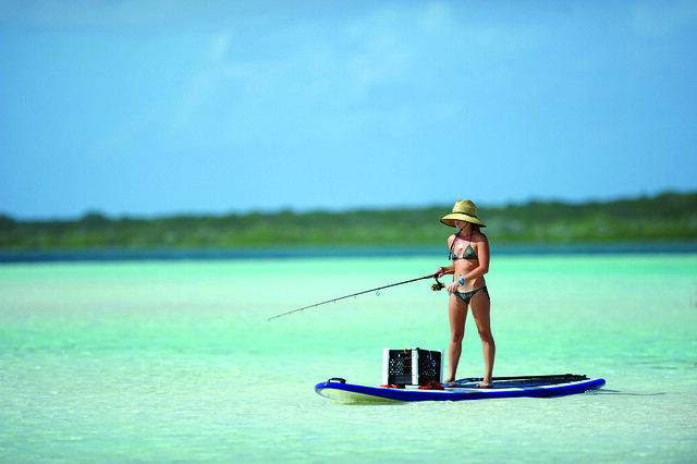 SUPfishing