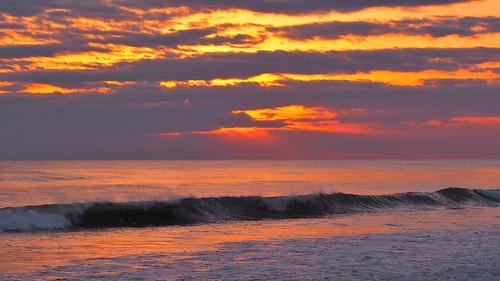 sunset sea horizon pacificocean sunsetlight