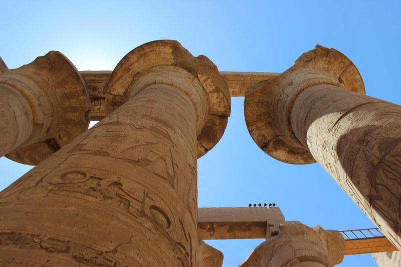 Columns of Karnak Temple