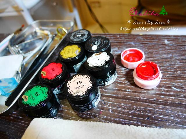 中山站聖誕節美甲光療指甲 (1)