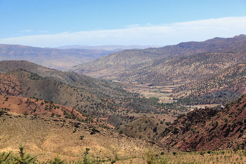 High Atlas, south side