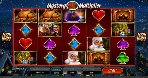 Secret Santa Mystery Multiplier Feature