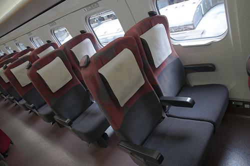 Shinkansen e7 Seats 2