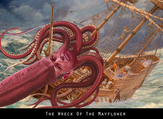THE WRECK OF THE MAYFLOWER