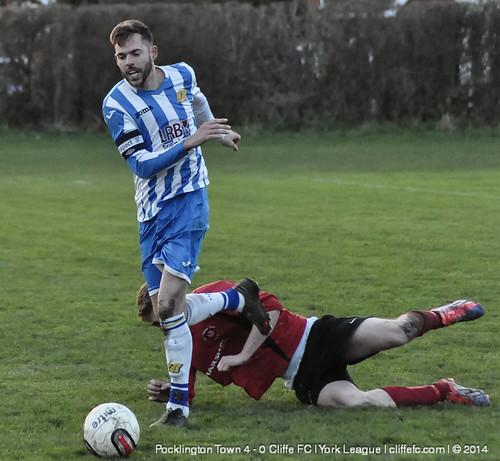 Cliffe FC 0 - 4 Pocklington Town 20Dec14
