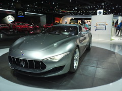 maserati granturismo(0.0), automobile(1.0), maserati(1.0), exhibition(1.0), vehicle(1.0), performance car(1.0), automotive design(1.0), auto show(1.0), concept car(1.0), land vehicle(1.0), luxury vehicle(1.0), supercar(1.0), sports car(1.0),