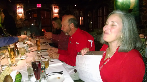The Company Christmas Party, The Charthouse Resuraunt, Savannah, Ga.