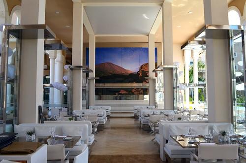 On site restaurant, Gran Melia Palacio de Isora Hotel