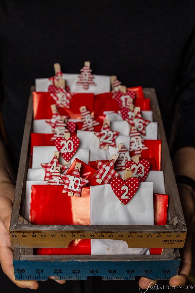 Calendario Avvento Pinterest.Biscotti Di Pasta Frolla