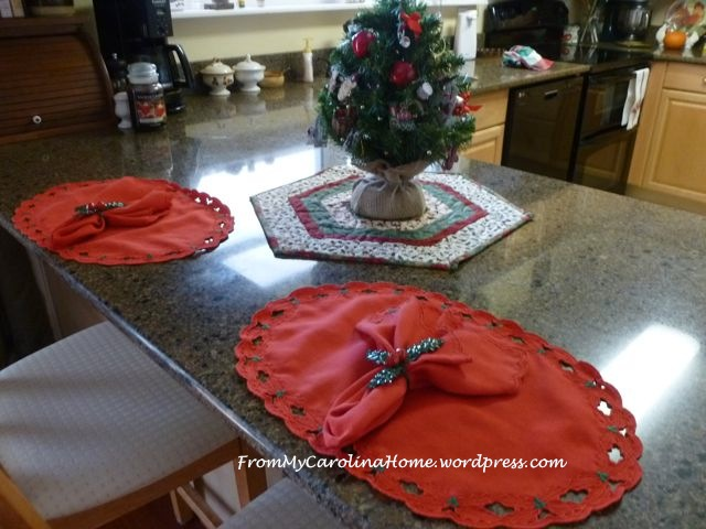 Christmas Hexagonal Table Topper 17