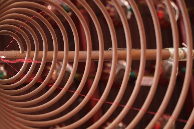 Incense cone, Penang, Malaysia