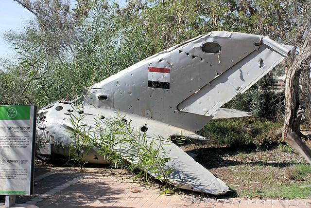 MiG-19 tail
