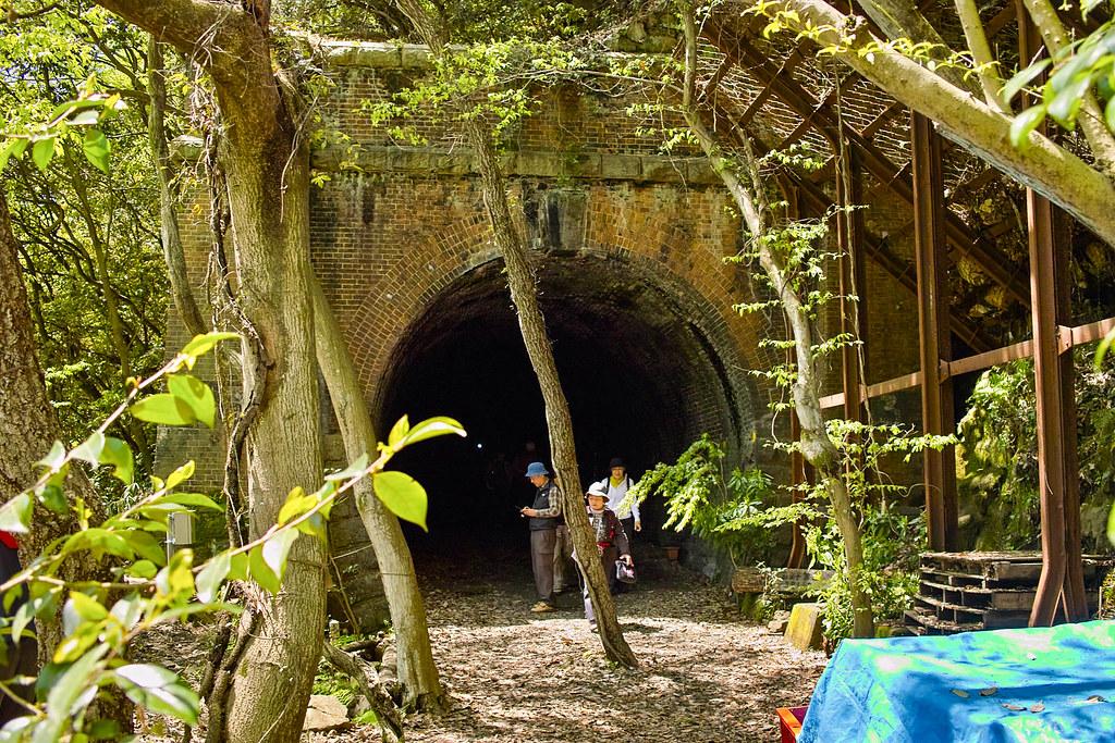 三号トンネル出口