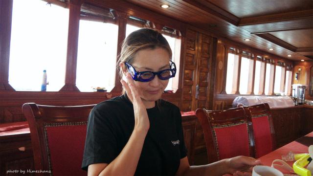 船酔いしないメガネをかけるプレイw