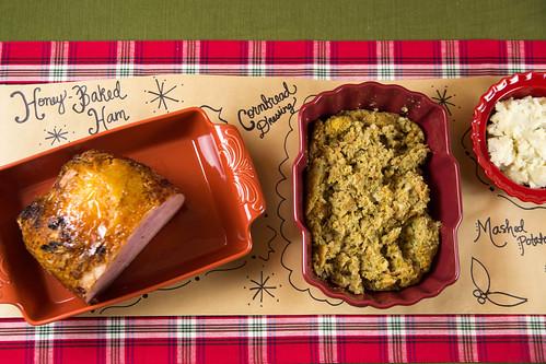 HoneyBaked Christmas Dinner