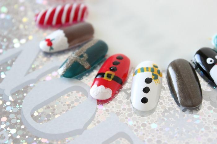 Festive Nails1