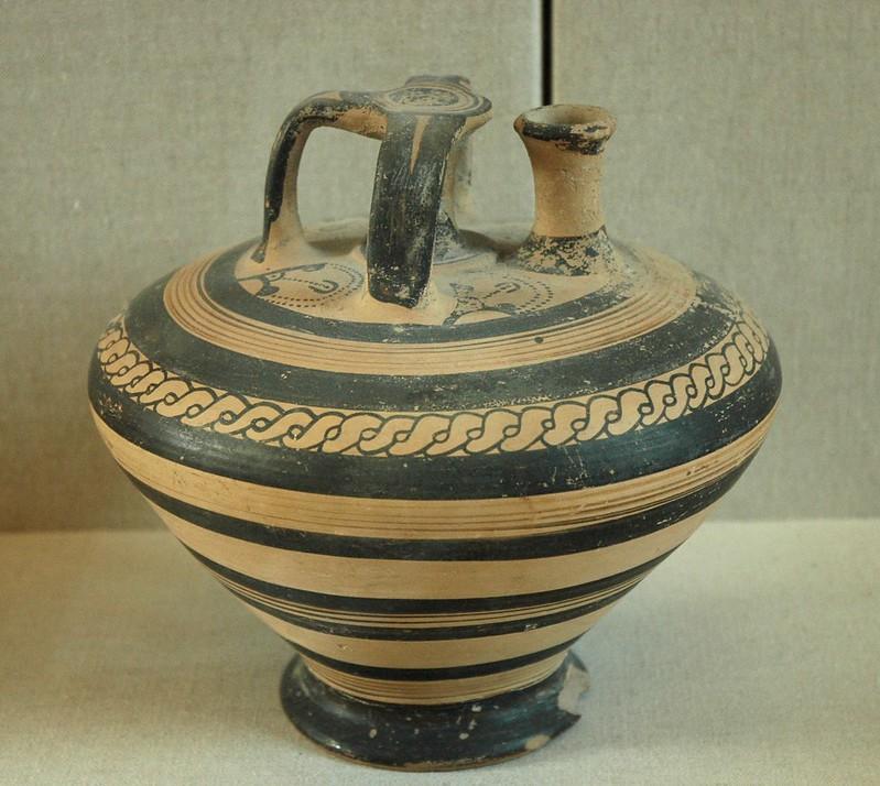 Mycenaean stirrup vase