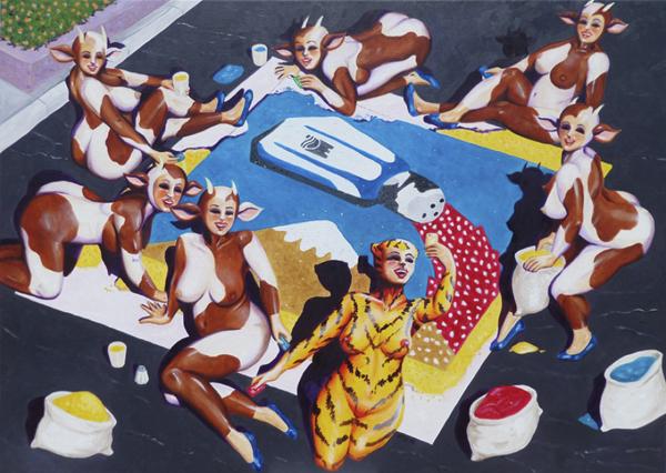 Marc Olbrechts Exhibition, Adeje, Tenerife