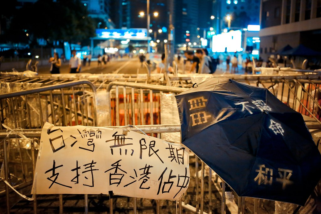 Umbrella movement - 0936