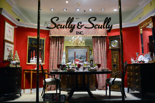 Picture Of 2014 Holiday Window 3 Of Scully & Scully Located At 504 Park Avenue At 59th Street In New York City. Scully & Scully Is A High End Home Goods Store. Photo Taken Thursday December 18, 2014
