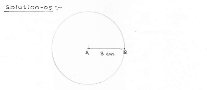 RD SHARMA class_6 solutions  14.Circles  Ex_14.1 Q 5