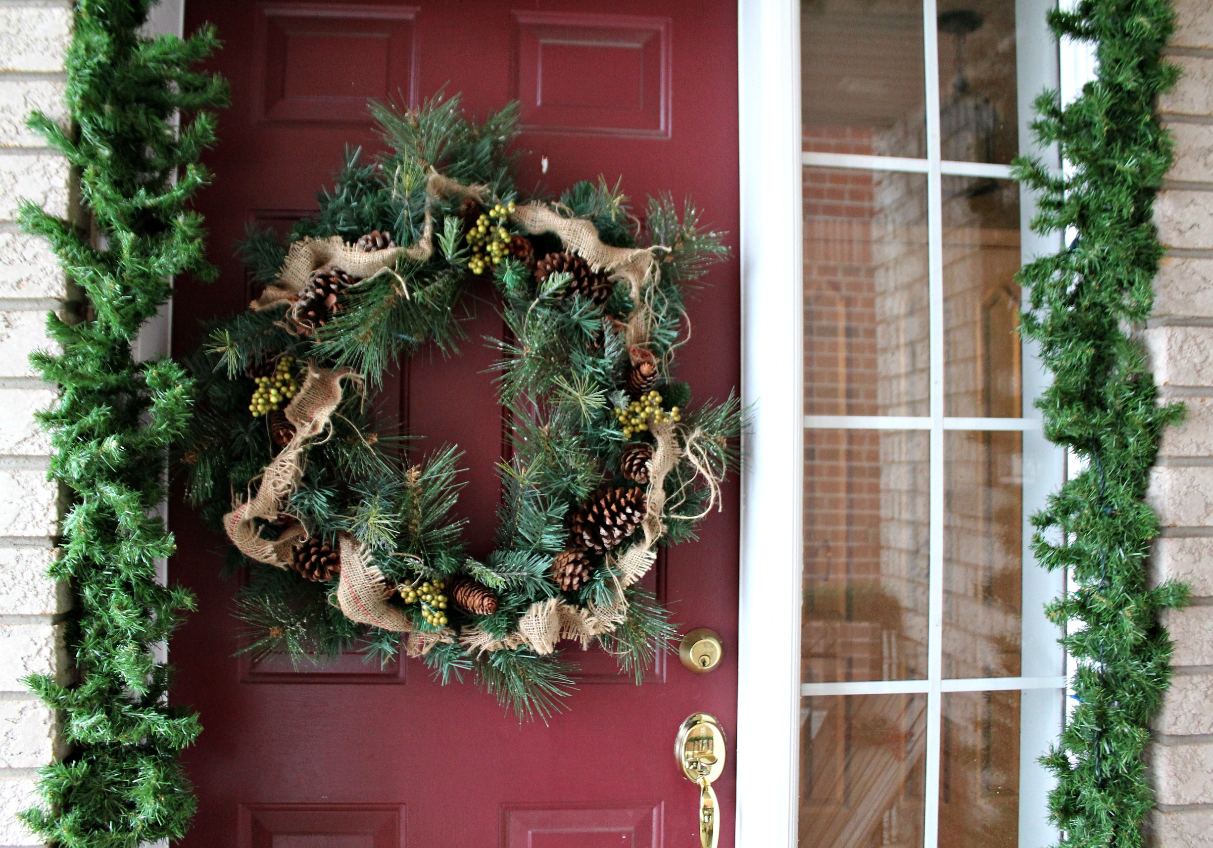 Front porch wreath