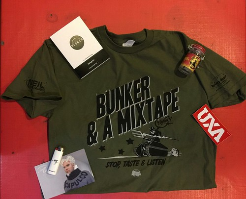 Dinner & A Mixtape Gift Bag