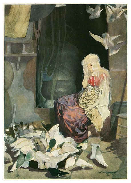 007-Grimm's Fairytale Treasure-1923- Illust. Gustaf Tenggren-via Animation Resources