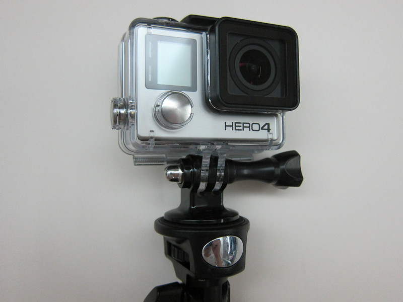 GoPro Tripod Mounts - Tripod Mount On Selfie Monopod