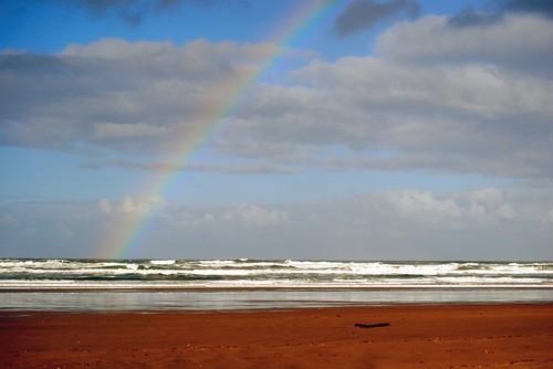 Rainbow After a Rain Shower