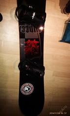 Snowboard Nidecker Axis 163 cm včetně obalu,vázání - titulní fotka