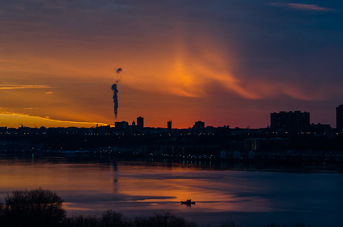 nyc sunset usa newyork river boats manhattan hudson westside 10025 nikond5100