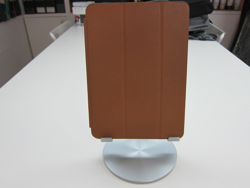 Just Mobile UpStand - With iPad Air - Portrait Front