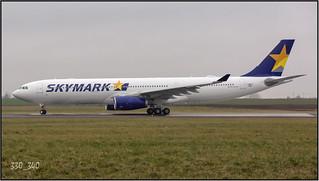 """A330-343 JA330G ( F-WWYE )  """"sn 1592"""" /   0698"""
