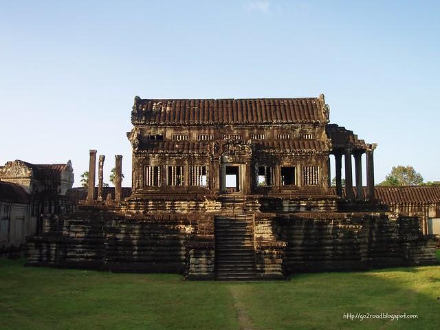 Ангкор Ват,территория