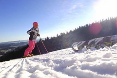 SNOW tour 2014/15: Lipno – ze sjezdovek na stromy