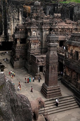 #Travel The Rock Hewn Temple form 8th C, Tibet