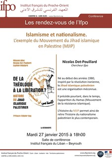 Islamisme et nationalisme : l'exemple du Mouvement du Jihad islamique en Palestine (MJIP)