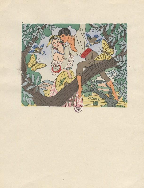 Mireille et Vincent (la cueillette)
