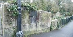 Photo of Abbey Bridge, Tavistock black plaque
