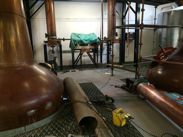 Isle of Arran Distillers - repairing stills