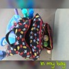 May 24: In my bag - Rapunzel and Pascal were in my bag at the park today! #day24 #may #spring2016 #photochallenge #fmsphotoaday #tsumtsum #tangled #rapunzel #pascal #fms_inmybag