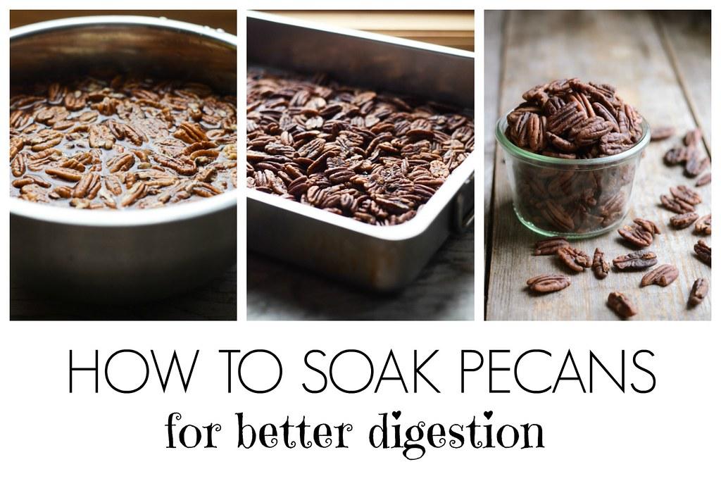 How to Soak Pecans