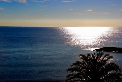 blue sea beach mar platja ametllademar