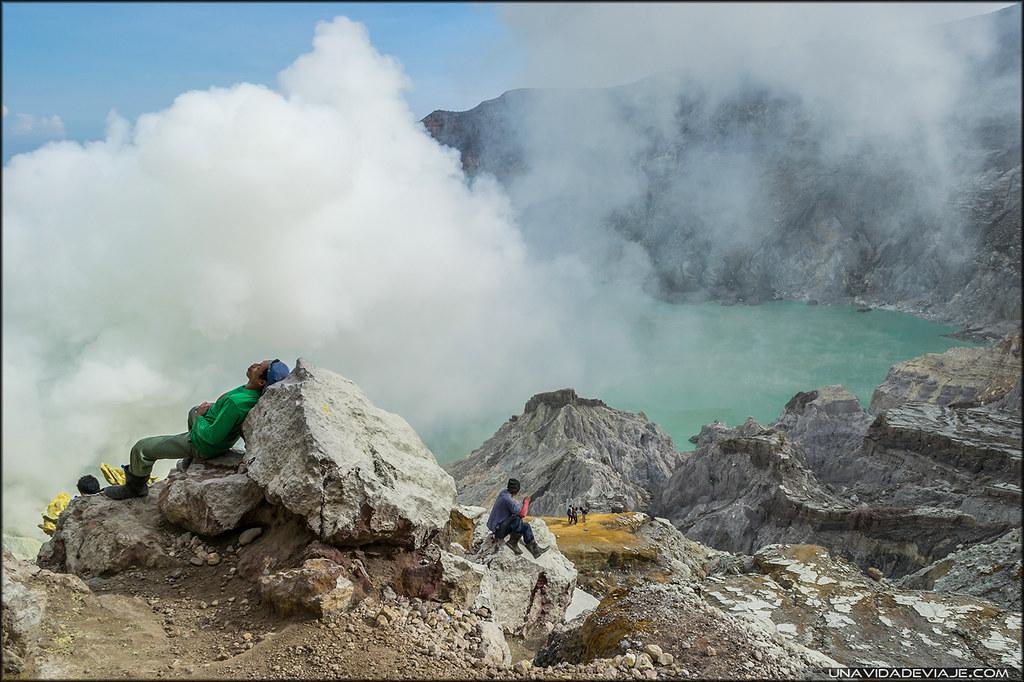 volcán ijen por libre