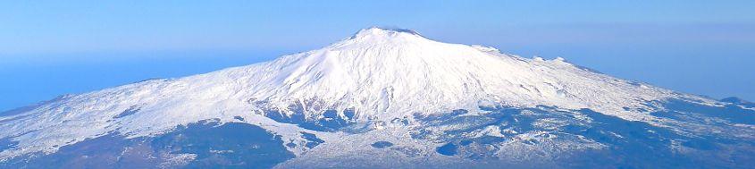 Sizilien, Skitour Vulkan Ätna, 3323 m. Foto: Günther Härter.