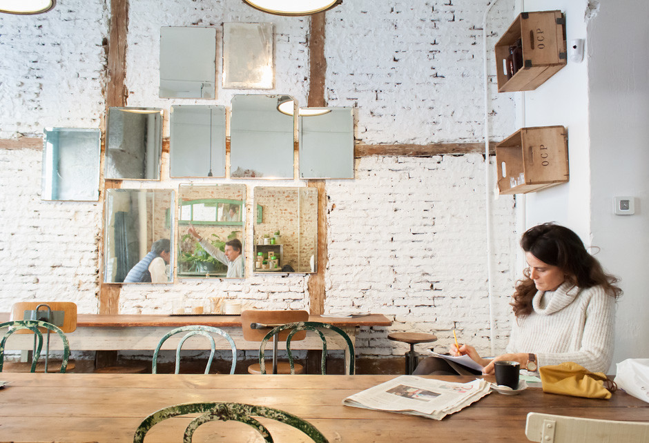 Il Tavolo Verde Organic Cafe Madrid