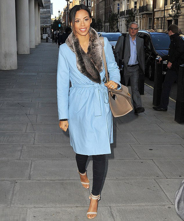 pastel-blue-Rochelle-Humes-for-Very-faux-fur-wrap-collar-robe-coat