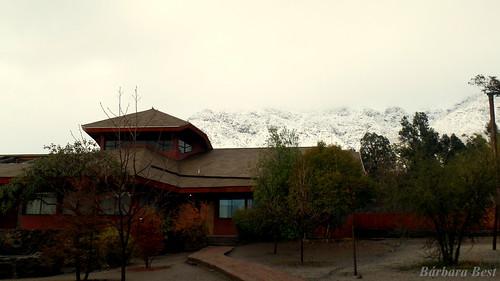 chile santiago winter snow nieve waldorf