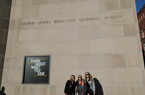 History Students Visit Holocaust Memorial Museum